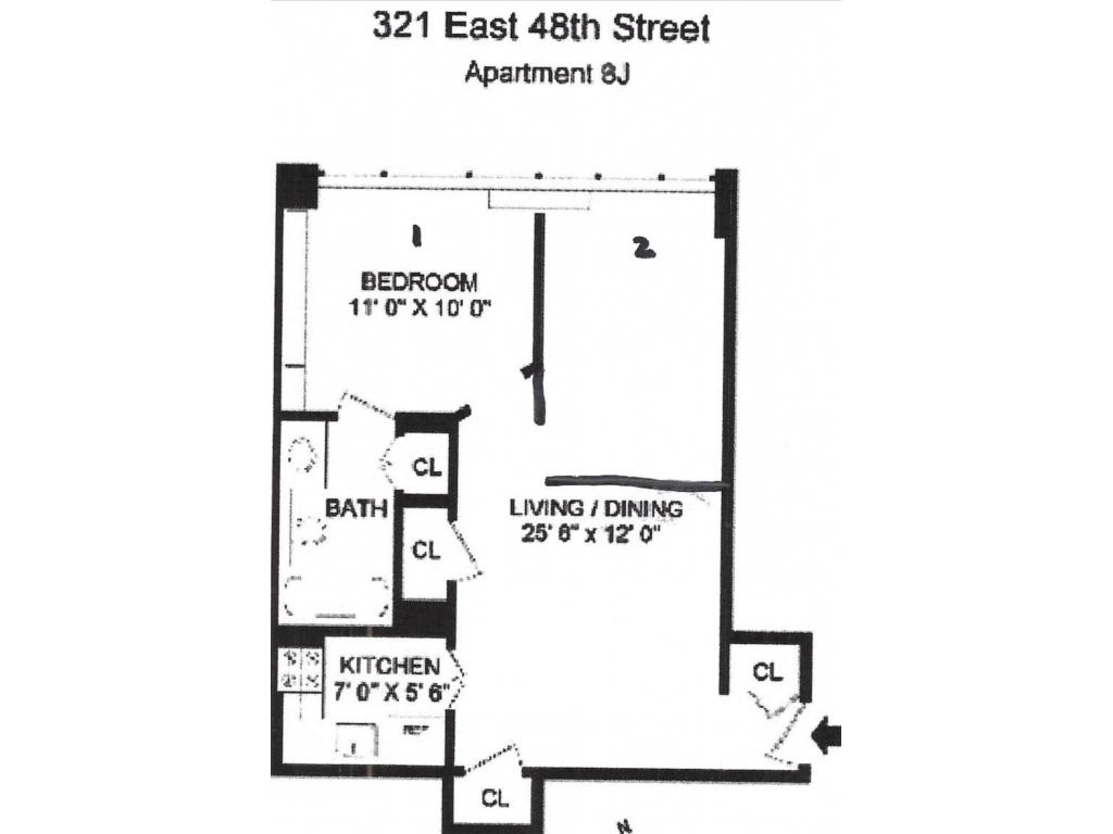 321 East 48 StreetNew York, New York 10017